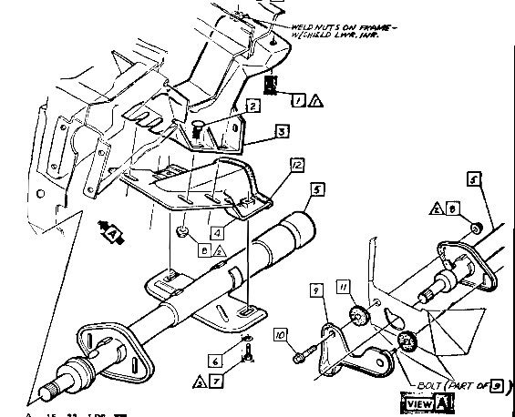 C3 Corvette Steering Column Wiring