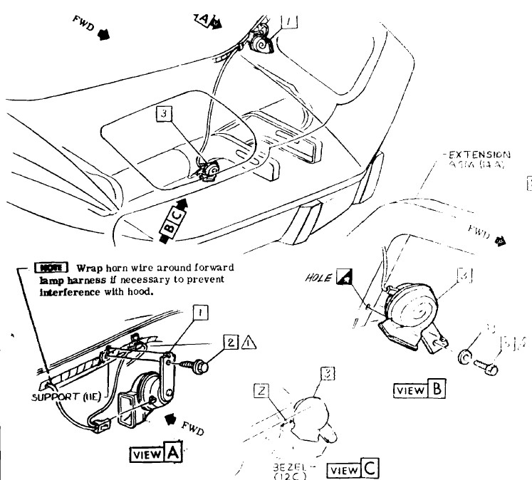 1969 corvette alarm wiring diagram
