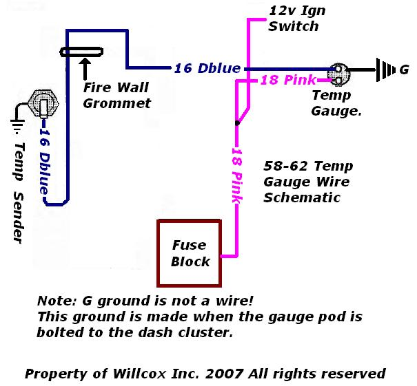 1958 Corvette Wiring Diagram Temp Diagramrh52yoganeuwiedde: 1958 Corvette Gauge Wiring Diagram At Gmaili.net