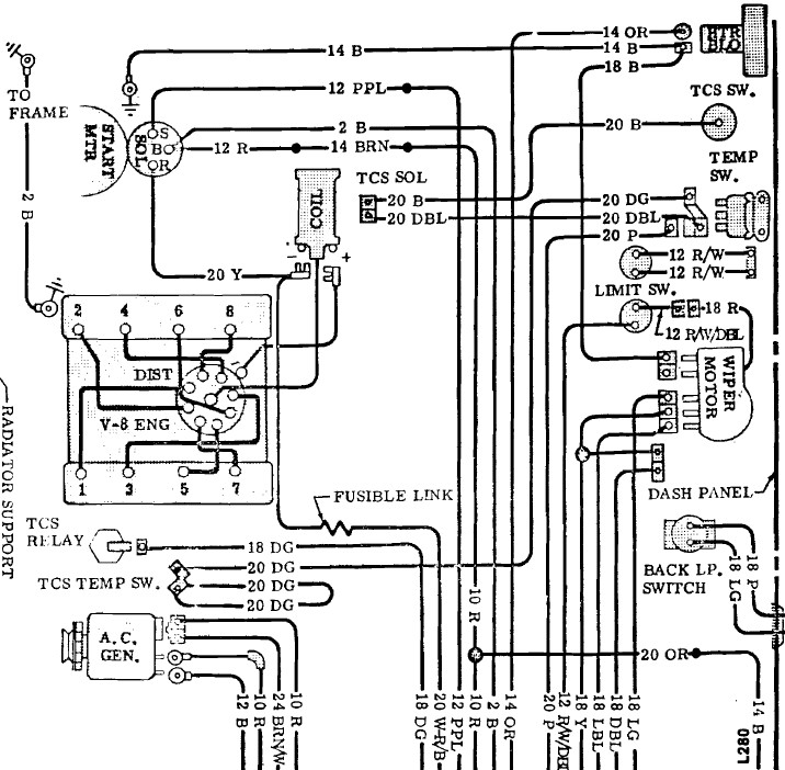 1972 corvette ignition wiring diagram 1972 corvette ac wiring diagram
