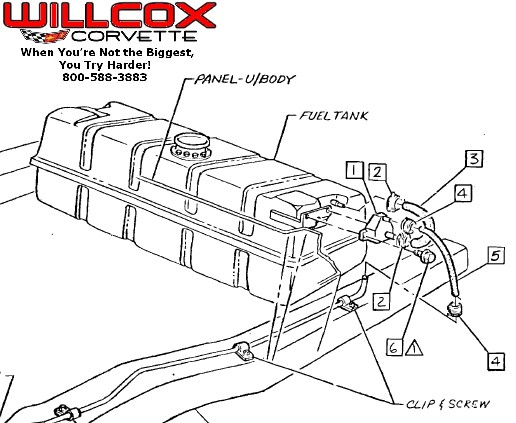1980 Corvette Fuel Tank Diagram on 1959 chevy impala wiring diagram