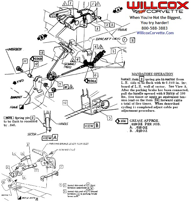 1991 corvette parts diagram
