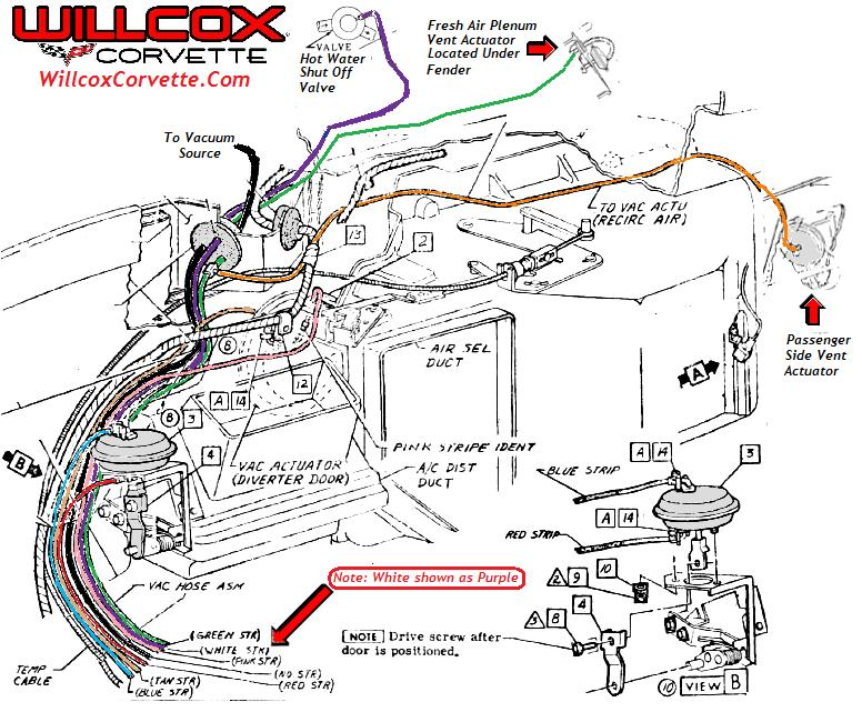 1969 corvette vacuum hose diagram