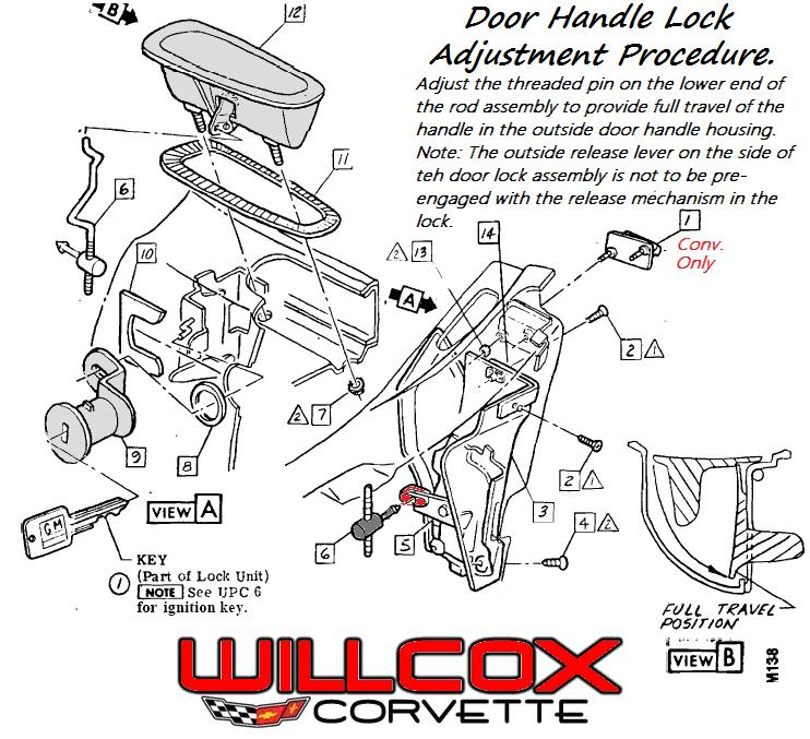 C3 Corvette Door Parts Diagram on wiring of 1980 corvette window diagram
