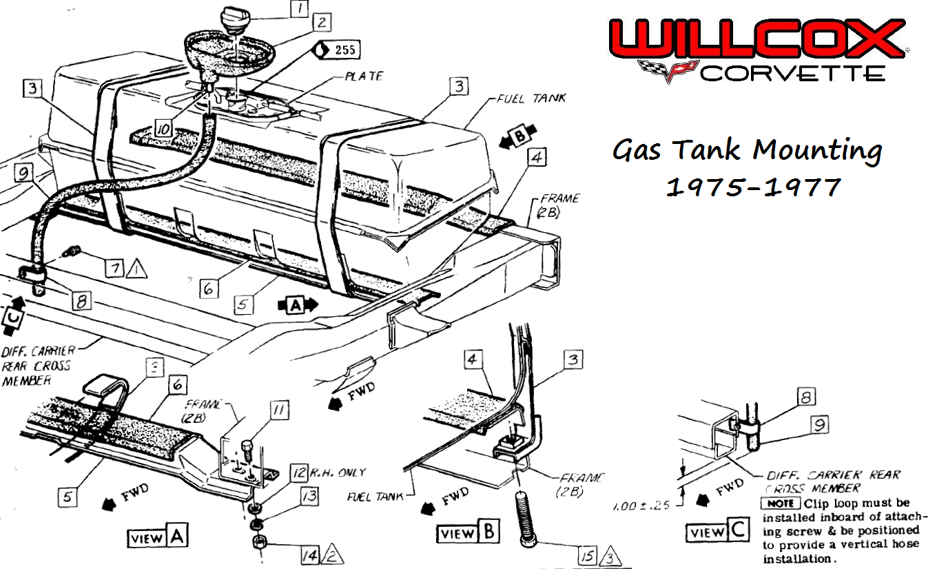 1975 1977 Corvette Gas Tank Mounting on 1987 Corvette Wiring Diagram
