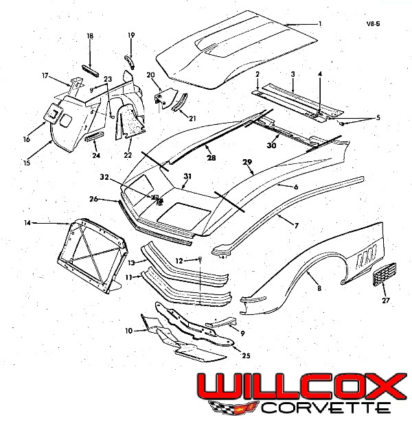 2004 corvette parts diagram  corvette  auto wiring diagram