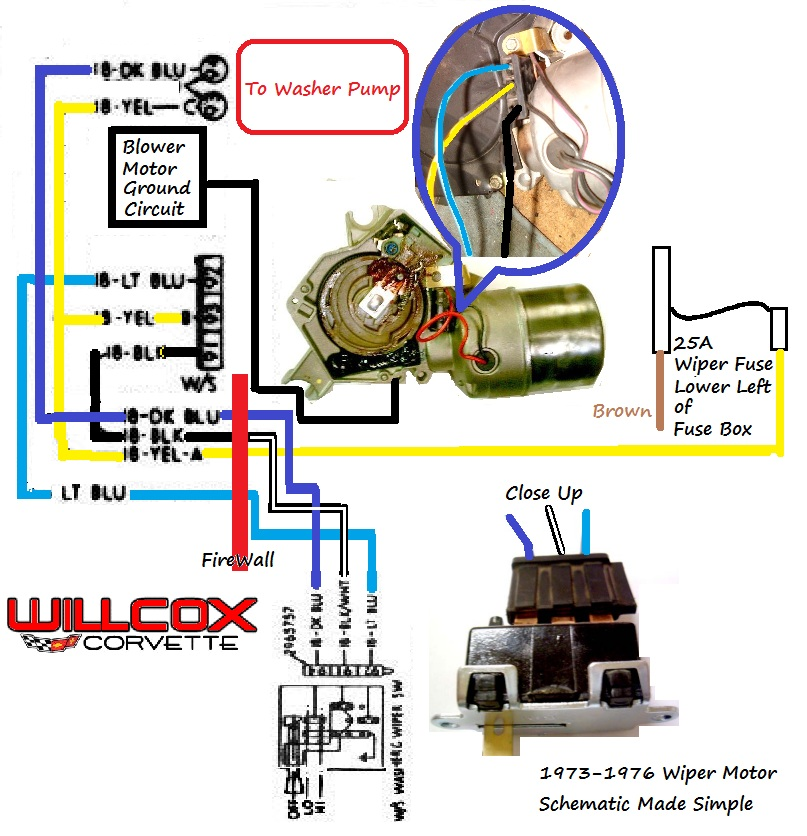 1973-1976 Corvette Wiper Motor Testing Schematic Made Simple ... on heater relay, horn relay, transmission relay, battery relay, air handler relay, motor relay, actuator relay, dimmer relay, wiper relay, coil relay, switch relay, 24 v relay,