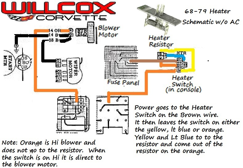 1979 corvette ac fan switch wiring diagram 1979 corvette ac fan 1968 1979 corvette heater schematic out air conditioning
