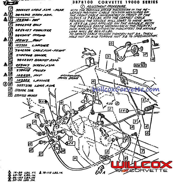 Corvette Wiring C3 Corvette Fuse Box Diagram Best Free