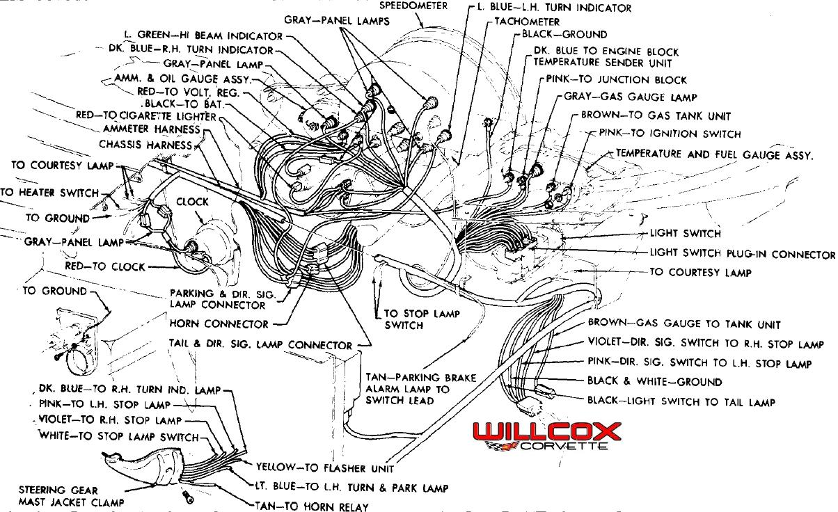 1958 1962 corvette dash wire connector colors.pdf 1958 1962 corvette dash wire connector colors willcox corvette, inc 1960 corvette wiring diagram at panicattacktreatment.co
