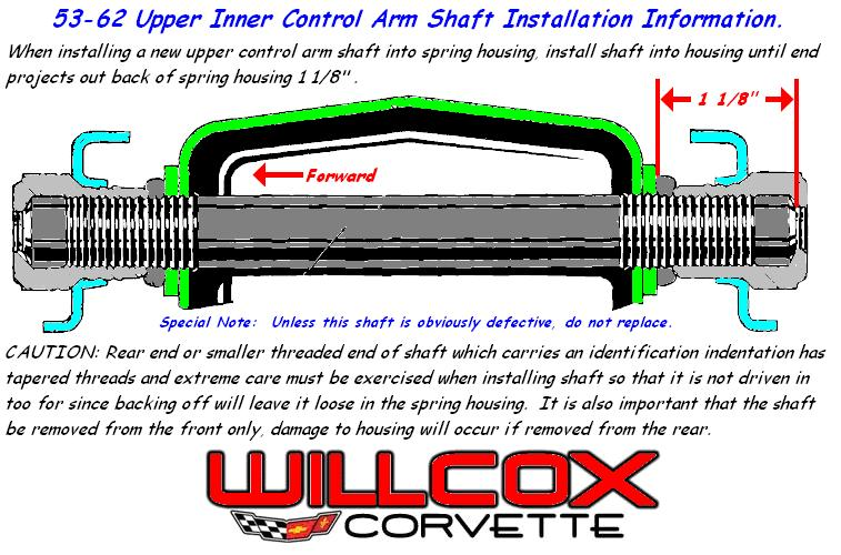1953-1962-corvette-upper-inner-control-arm-shaft-installation