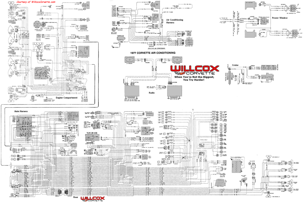 1977 Corvette Tracer Wiring Diagram Tracer Schematic