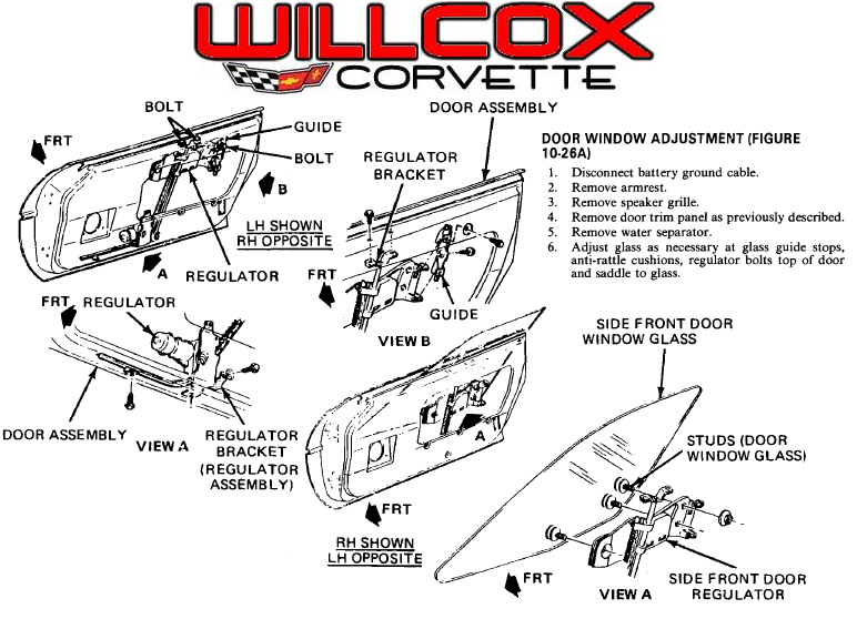 1968 corvette wiring diagram free 1968 corvette parts for 1984 corvette window regulator