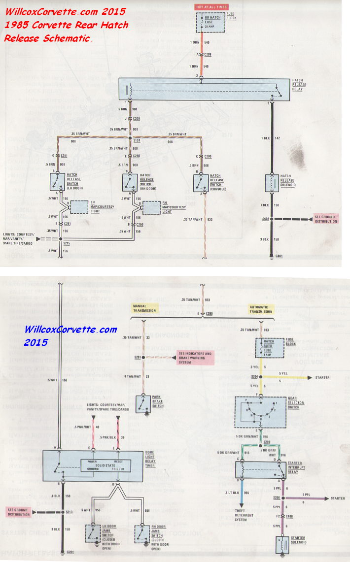 85 corvette wiring diagram trusted wiring diagrams u2022 rh sivamuni com  85 corvette fuel pump wiring diagram
