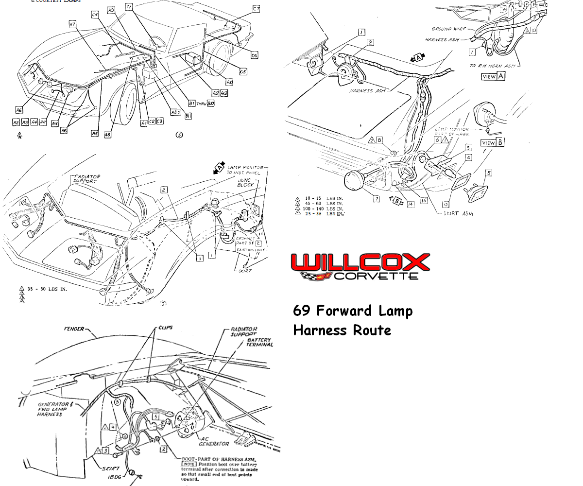 93 corvette radio wiring diagram