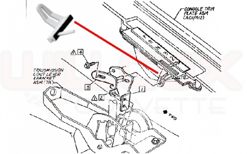 service manual  how to install shifter mechanism 1999