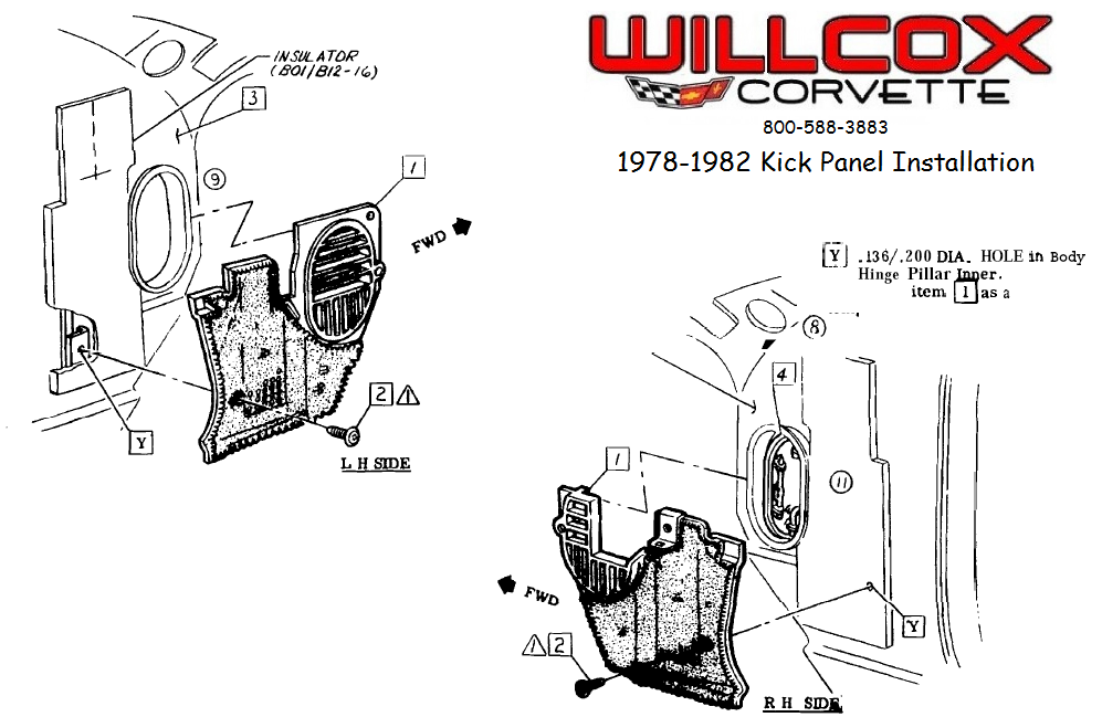 1978-1982-corvette-kick-panel-installation