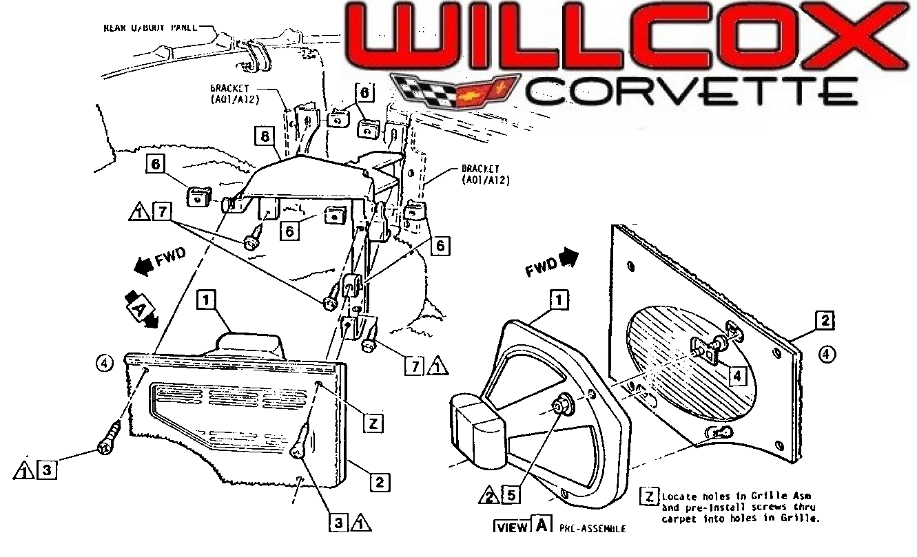 1972 corvette stereo wiring diagram