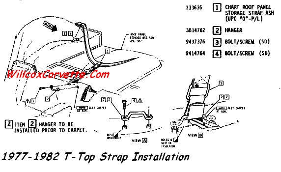 1977-1982-corvette-t-top-strap-mounting-install