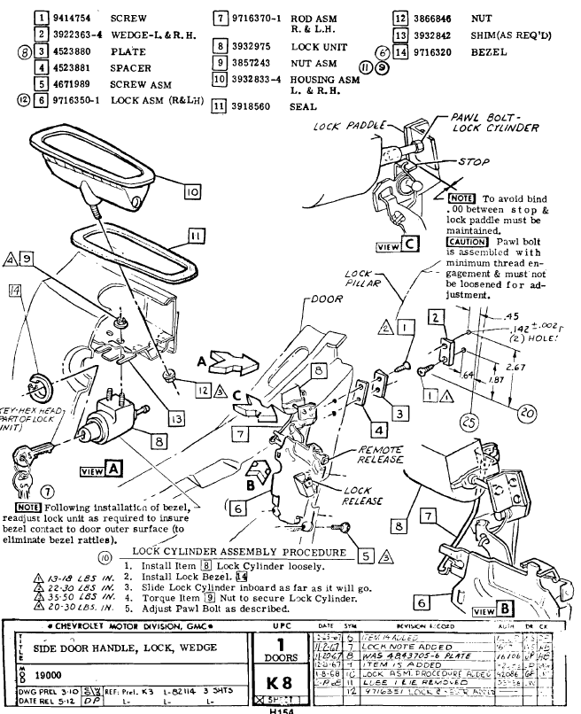 wiring diagram power window handle switch wiring wiring 68 corvette door lock illustration