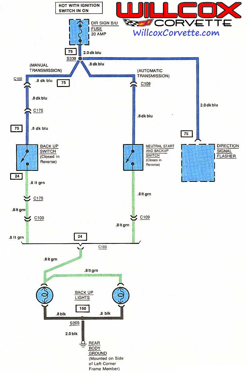Wiring Diagram Safety  Backup Switch