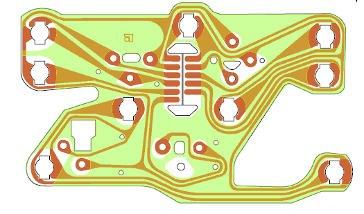 pcb with oil temp sender