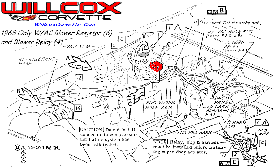 Repairs willcoxcorvette on 1969 chevy corvette belt diagram