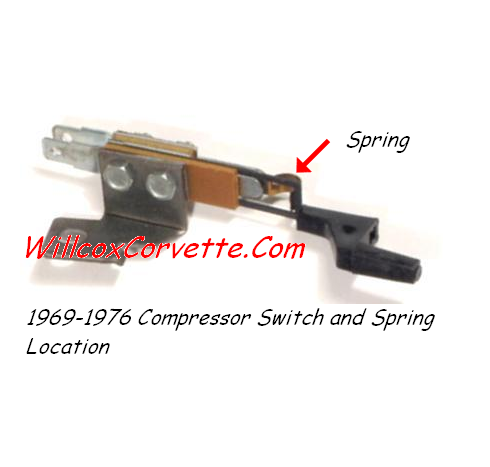 compressor switch and spring