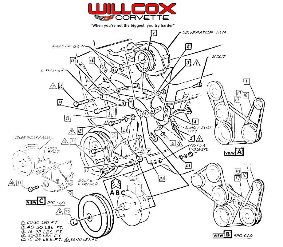 Willcox Corvette, Inc  - Corvette Repair & Install Help
